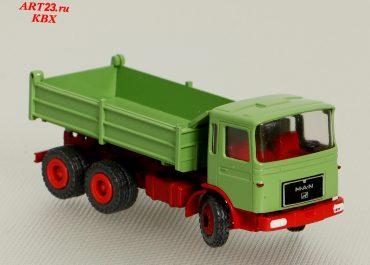 MAN F8 26.256 construction dump truck Meiller Kipper