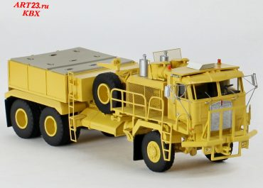 Kenworth 993 COE heavy saddle-ballast tractor with cab K100A