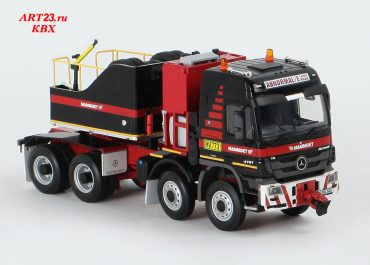 Mercedes Benz Actros 4161AS SLT MP3 «Mammoet» heavy saddle-ballast tractor
