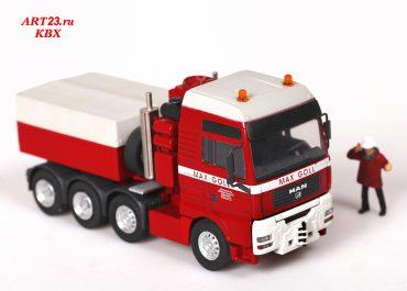 MAN TGA 41.660 XXL «Max Goll» heavy saddle-ballast tractor