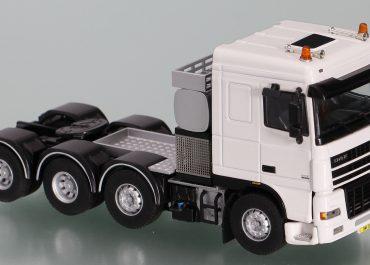 DAF XF 95 FTM 95.530 SC, Space Cab, heavy saddle-ballast tractor