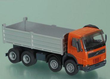 Volvo FM 12-420 three-way construction dump truckMeiller Kipper