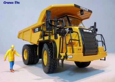 Caterpillar 772 off-road Mining rear dump truck