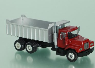 Mack DM600 construction rear dump truck