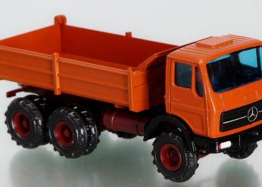 Mercedes Benz NG, Neuen Generation, 2626 AK construction three-way dump truck Meiller Kipper