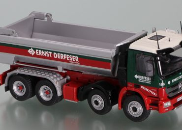 Mercedes Benz Actros MP3 4151K, «Ernst Derfeser» Austria, construction rear dump truck Carnehl