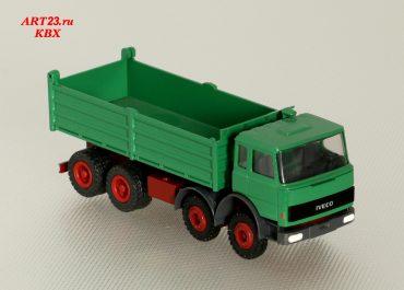 IVECO Magirus TurboStar 340-34 three-way construction dump truck Meiller Kipper