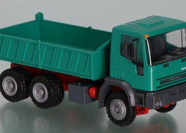 Iveco EuroTrakker 260EH440 construction three-way dump truck Meiller Kipper 3-S-SP