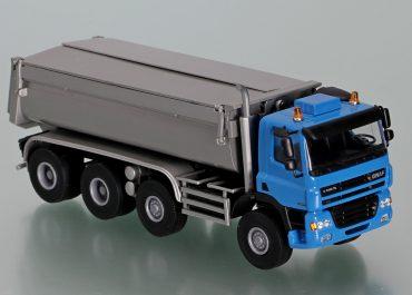 Ginaf X 4446 TS construction rear dump truck