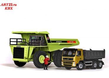 Euclid Hitachi EH 1700 off-road Mining rear dump truck