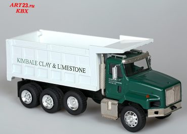 International PayStar 5600i «Kimble Clay & Limestone Co.» construction rear dump truck