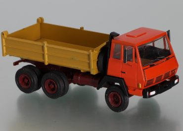 Steyr 90 1491 construction three-way dump truck with bodywork Meiller-Kipper