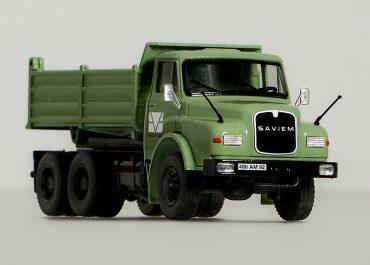 Saviem SM260/MAN 26.331 Hauber «Salviam» construction three-way dump truck Meiller Kipper