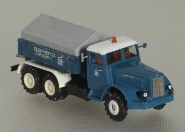 Berliet GPM 10W «Sarens» heavy saddle-ballast tractor