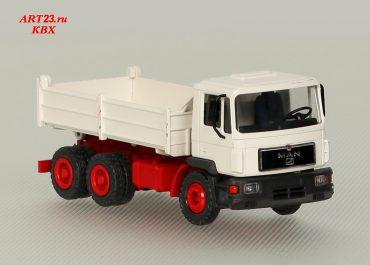 MAN F 90 24.292 DFK three-way construction dump truck Meiller Kipper