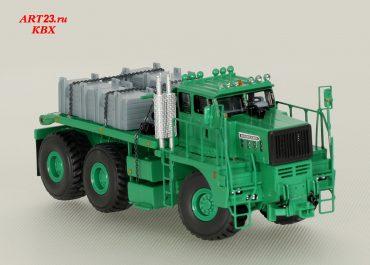 Hendrickson Hulk Н360 heavy saddle-ballast tractor