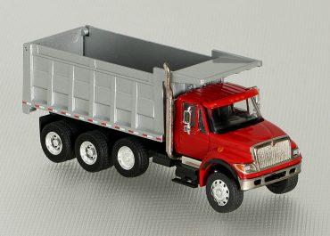 International 7600 HI road rear dump truck