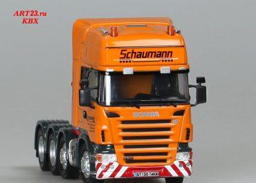 Scania R500 Topline «Schaumann» heavy saddle-ballast tractor