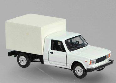 ВИС-23452 заднеприводный полурамный пикап с кабиной от кузова ВАЗ-2105 и фургоном