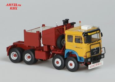 MAN F 48.700 VFA «Mammoet South Africa» heavy saddle-ballast tractor