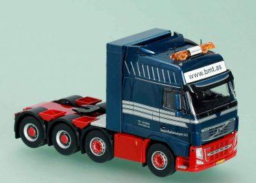 Volvo FH II 16.700 Globetrotter XXL «BMT Brande MaskinTransport A/S» Denmark heavy ballast-truck tractor