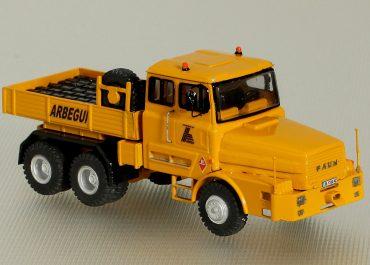 FAUN L1206WP/45ZA 6.40/45 «Arbegui S. A.» heavy saddle-ballast tractor