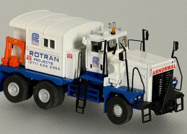 Pacific P12W3 Ultra «Rotran Heavy Transport Co.» heavy saddle-ballast tractor
