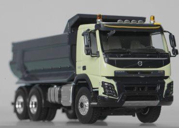 Volvo FMX 13-500 construction rear dump truck Meiller Kipper