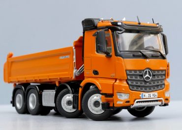 Mercedes-Benz Arocs 4151K construction three-way dump truck Meiller Kipper