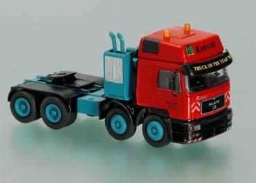 MAN E2000 41.463 «Krosche Krans Service» Trusk of the Year '95 saddle-ballast tractor