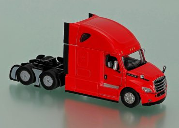 Freightliner New Cascadia Highway truck tractor with cab Raised Roof Sleeper