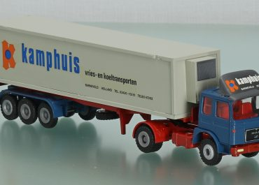 MAN F8 19.361 «Kamphuis Holland» Highway truck tractor and semi-trailer-container ship