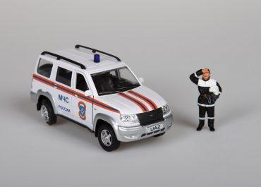 УАЗ-3163 Патриот грузопассажирский универсал МЧС РФ