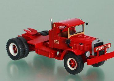 Mack FK SA «Wellington Service Corp.» truck tractor