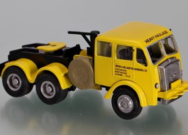 Foden FGH «Crook & Willington Carriers LTD» Highway saddle-ballast tractor