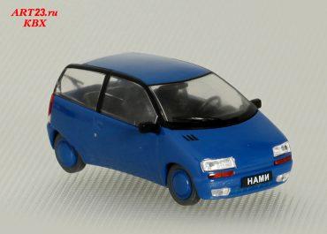 НАМИ-0288 опытный автомобиль с бензоводородной системой питания