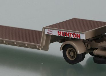 Foden S21, Mickey Mouse, «G. C. Munton» truck tractor with low-frame semi-trailer