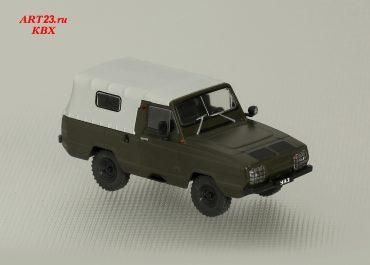 УАЗ-3907 «Ягуар» опытный плавающий армейский автомобиль