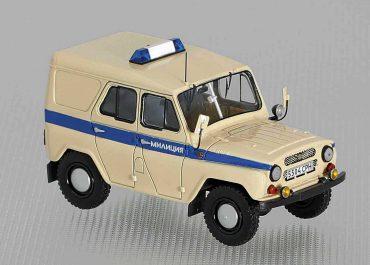УАЗ-31512-(01)-УМ-АДЧ автомобиль для выезда оперативных групп милиции