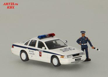 Форд Краун Виктория, Ford Crown Victoria Police Interceptor, в vin P71, «полицейский перехватчик» Дорожно-Патрульной Службы Госавтоинспекции ГУВД г. Москвы