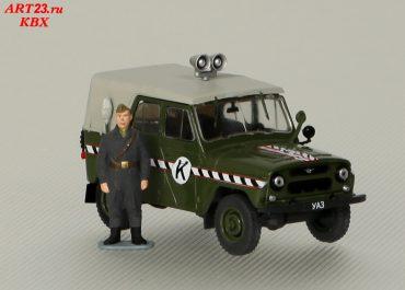 УАЗ-469/469Б автомобиль дорожно-комендантской службы Советской Армии