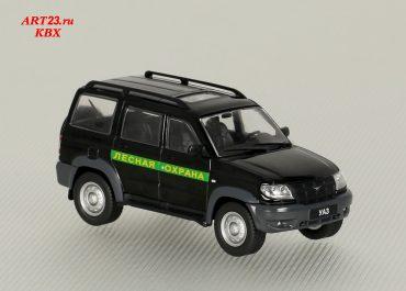 УАЗ-3163 Патриот грузопассажирский универсал государственного лесного надзора